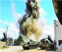 الجيش الوطني الليبي يشن هجوما على ميليشيات مصراتة