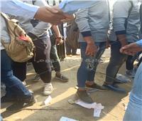 صوروفيديو| المدارس ترفع شعار«ممنوع البنطلون المقطع والشعر الطويل»