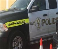 «المرور» ينشر سيارات الإغاثة والدفع الرباعى بالطرق السريعة لمنع الزحام