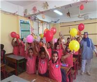 صور| جولة لمدير إدارة القاهرة الجديدة بالمدارس