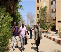 جامعة أسوان تبدأ في استقبال الطلاب القدامى والجدد