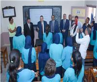 محافظ الإسكندرية: تحسين الخدمات التعليمية وتخفيف الأعباء عن أولياء الأمور