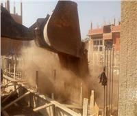 حمله لرفع الإشغالات بشوارع مركز بنى مزار بالمنيا