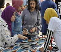 انتظام الحضور بجامعة المنيا في أول أيام العام الدراسي الجديد