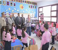محافظ البحيرة يفتتح مدرستين في بداية العام الدراسي الجديد