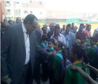 سكرتير عام محافظة المنيا يفتتح مدرستين بمركز سمالوط
