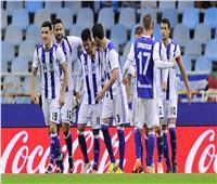 ريال سوسيداد يفوز على إسبانيول 3-1 بالدورى الإسباني