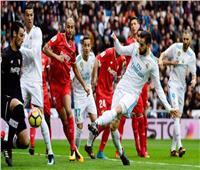 بث مباشر| مباراة إشبيلية وريال مدريد في الدوري الإسباني