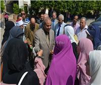 صور  رئيس جامعة الأزهر يتفقد المدن الجامعية للاطمئنان على إجراءات التسكين