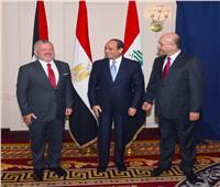 السيسي يعقد قمة ثلاثية «مصرية - أردنية - عراقية»