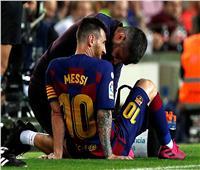 مدرب برشلونة يكشف حجم إصابة ميسي