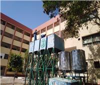 شركة مياه«البحر الأحمر» تُنفذ حملةً لتطهير وتعقيم خزانات مياه الشرب بالمدارس والمعاهد الأزهرية