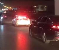 فيديو  سيولة مرورية بشوارع القاهرة تفضح أكاذيب الجماعة الإرهابية