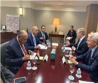 وزير الخارجية يلتقي نظيره الفنلندي على هامش الجمعية العامة للأمم المتحدة