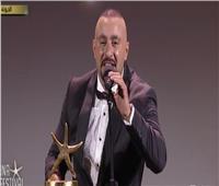 صور.. أحمد السقا مفاجأة ختام مهرجان الجونة السينمائي 2019
