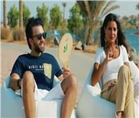 فيديو| كيف تتعامل ريهام ايمن مع معجبات زوجها شريف رمزي