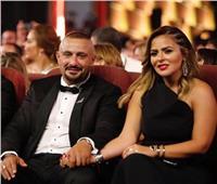 صور| أحمد السقا وزوجته يفاجئان الجمهور بظهور جديد في «الجونة السينمائي»