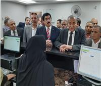 صور| وزير التموين يفتتح مركزين لخدمة المواطنين بالقليوبية