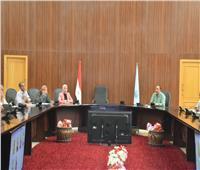 نائب محافظ البحر الأحمر تطالب الجهات التنفيذية بتقرير شامل عن أعمال التطوير