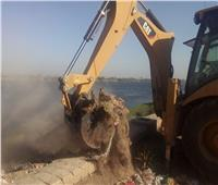 رفع 150 طن قمامة من قرية «السمطا» بسوهاج