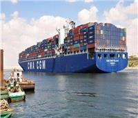 ميناء دمياط يستقبل ٩ سفن للحاويات والبضائع العامة