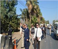جولة ميدانية لمدير أمن المنوفية بإدارة قوات الشرطة في قويسنا