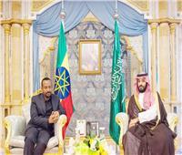 ولي العهد السعودي يتلقى اتصالًا هاتفيًا من رئيس وزراء إثيوبيا