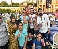 صور| نجوم الفن مع ذوي القدرات الخاصة «في حب مصر»