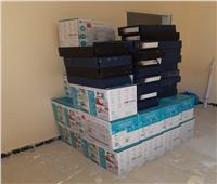 توزيع 23 ماكينة خياطة بالمجان لمصابى الألغام بمدينة الحمام