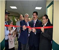 محافظ القليوبية ورئيس «التأمين الصحي» يفتتحان وحدة قسطرة القلب بمستشفى النيل