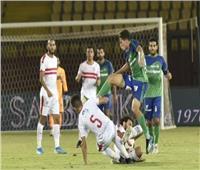 طرد طارق حامد بعد اشتباكات بين لاعبي الزمالك والمقاصة