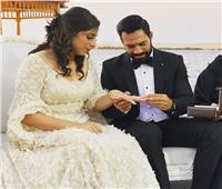 حسني عبد ربه يحتفل بزفافه على ابنة نجم الدراويش الأسبق