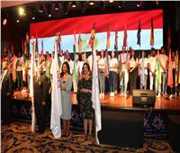 تكريم محافظ جنوب سيناء ووزيرة التخطيط خلال افتتاح المؤتمر الإفريقي الأول