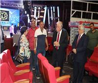 محافظ جنوب سيناء يتفقد الاستعدادات النهائية لحفل أكتوبر