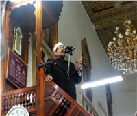 وزير الأوقاف يلقي خطبة الجمعة من مسجد الوادي المقدس في سانت كاترين
