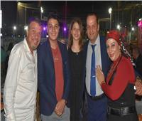 صور| أبرزهم أحمد سلامة وميسرة.. فنانون يحتفلون بعيد ميلاد «سها وردينا»