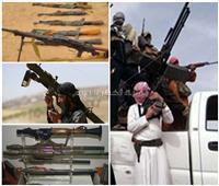 تقرير  أسلحة في أيدي الإرهابيين.. أخطرها «الكلاشينكوف والهاون»