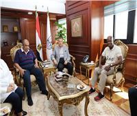 وزير الزراعة ورئيس الإيفاد يصلان بني سويف لتفقد مشروعات زراعية