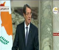فيديو|  أناستاسيادس: اتفاق مشترك على تشجيع الاستثمار بين مصر واليونان وقبرص