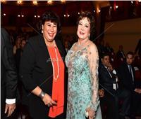 وزيرة الثقافة تصل حفل افتتاح مهرجان الإسكندرية