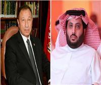 فيديو| تركي آل الشيخ يوجه رسالة مؤثرة لـ«الخطيب» بسبب مرضه