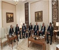 رئيس اتحاد الصناعات يلتقي نظيره الروسي بمعرض «الأسبوع الصناعي الكبير»