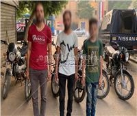القبض على تشكيل عصابى تخصص في سرقة الدراجات النارية بالقاهرة