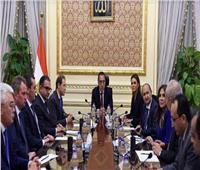 رئيس الوزراء يستقبل وزراء الصناعة والتجارة بالاتحاد الأوراسي