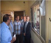 رئيس مركز أبوقرقاص بالمنيا يتابع عدد من الخدمات