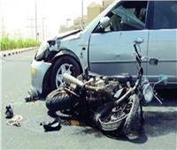 مصرع طالب في تصادم سيارة ودراجة بخارية في قنا
