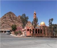 بث مباشر| شعائر صلاة الجمعة من مسجد الوادى المقدس بسانت كاترين