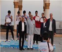 برونزية لمصر في أول أيام بطولة العالم الشاطئية للتايكوندو بسهل حشيش