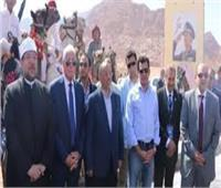 وزير الرياضة ومحافظ جنوب سيناء يفتتحان عددا من المنشآت الشبابية بسانت كاترين