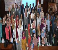 جامعة السادات تحتفل بذكرى انتصارات أكتوبر المجيدة